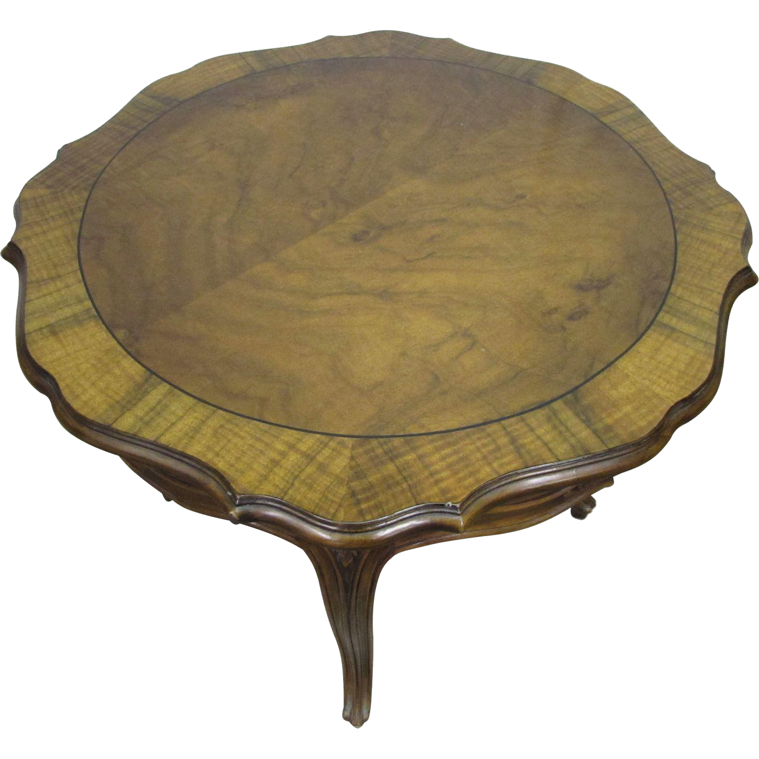 Early 20th century carved wooden table