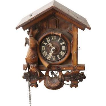 Vintage hand carved wooden cuckoo clock from oldegoodthings on ruby lane - Wooden cuckoo clocks ...