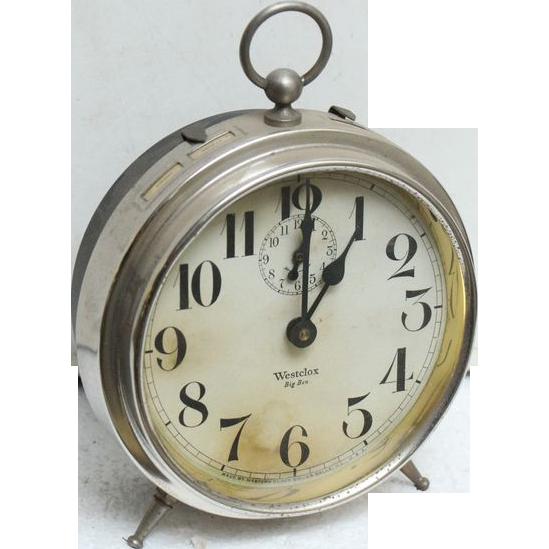 Vintage petite Big ben clock by West Clox