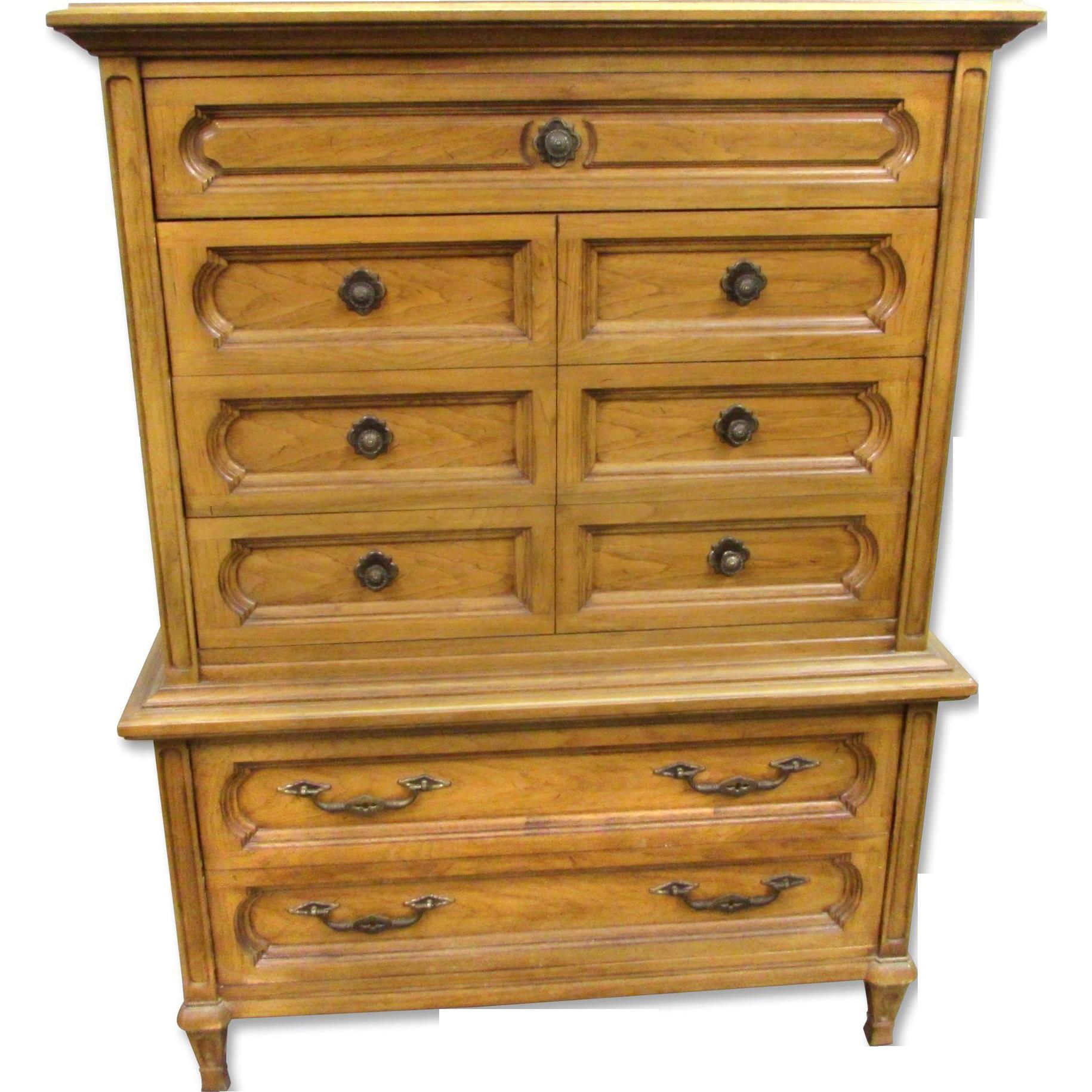 Tall Thomasville dresser