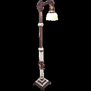 Onyx standing floor lamp