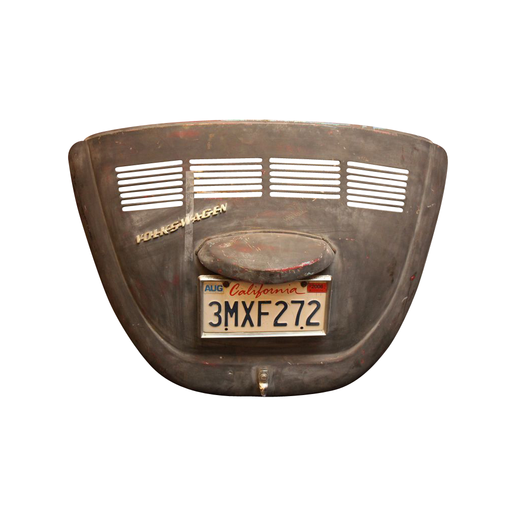 Vintage decorative car back