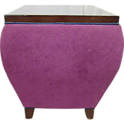 Late 20th century purple display table