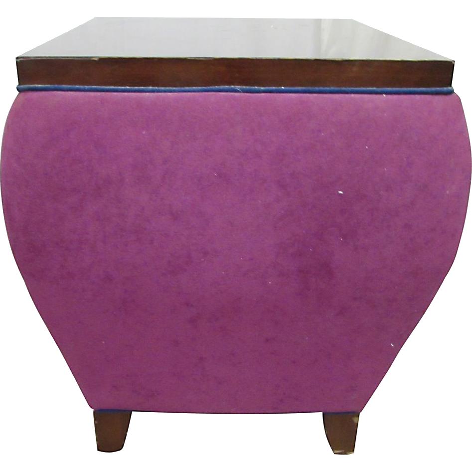 Late 20th century purple display table