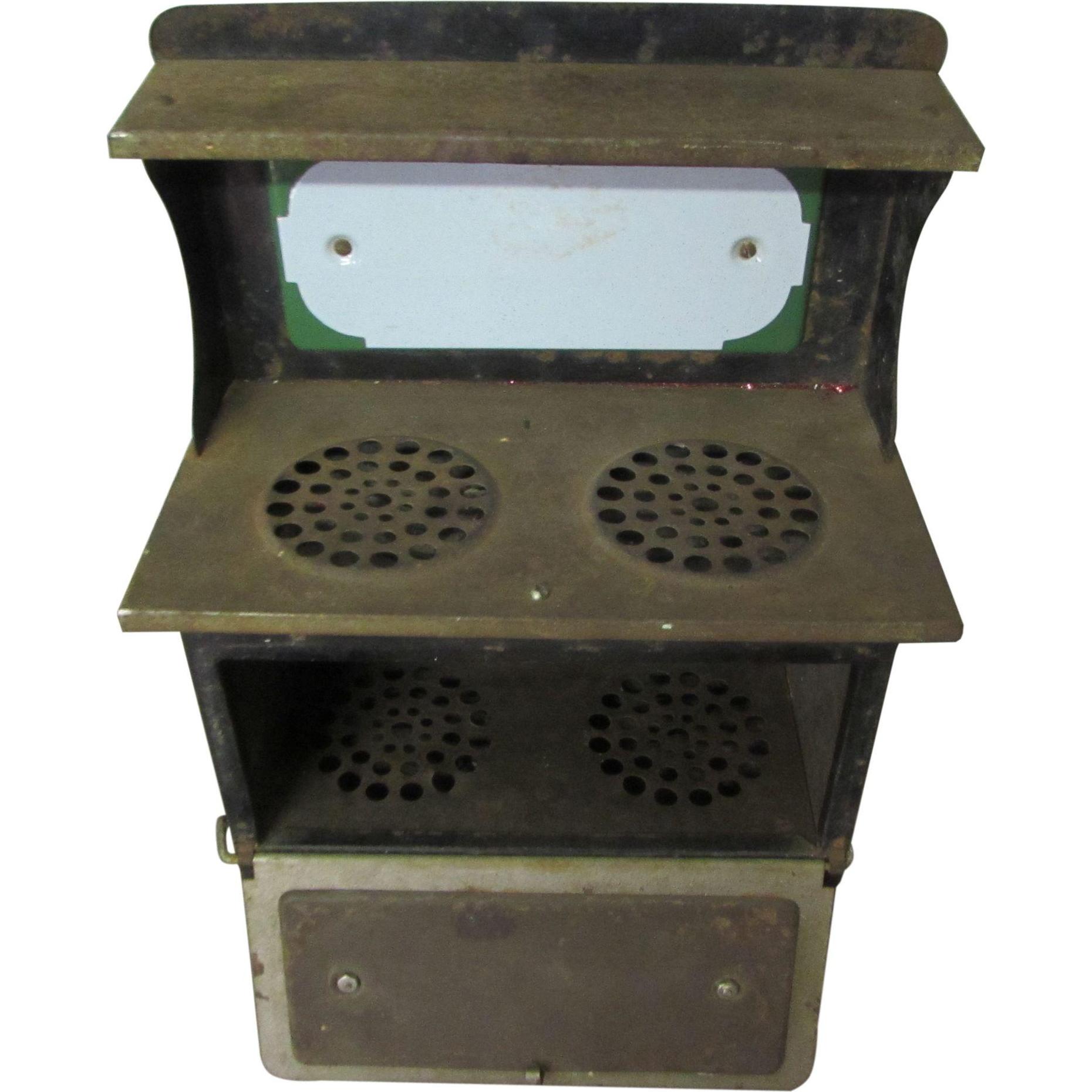 Antique mini stove