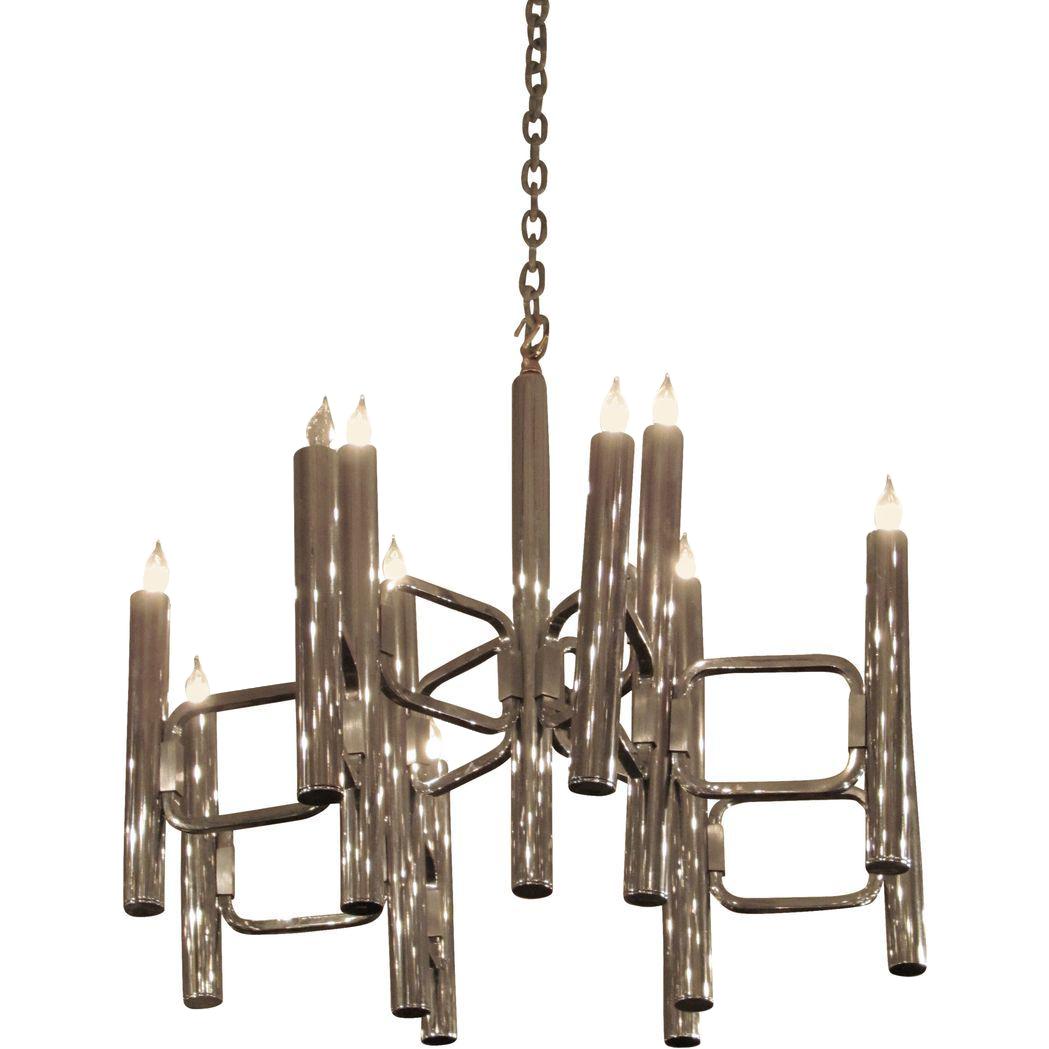 Mid-Century Modern Lightolier chandelier