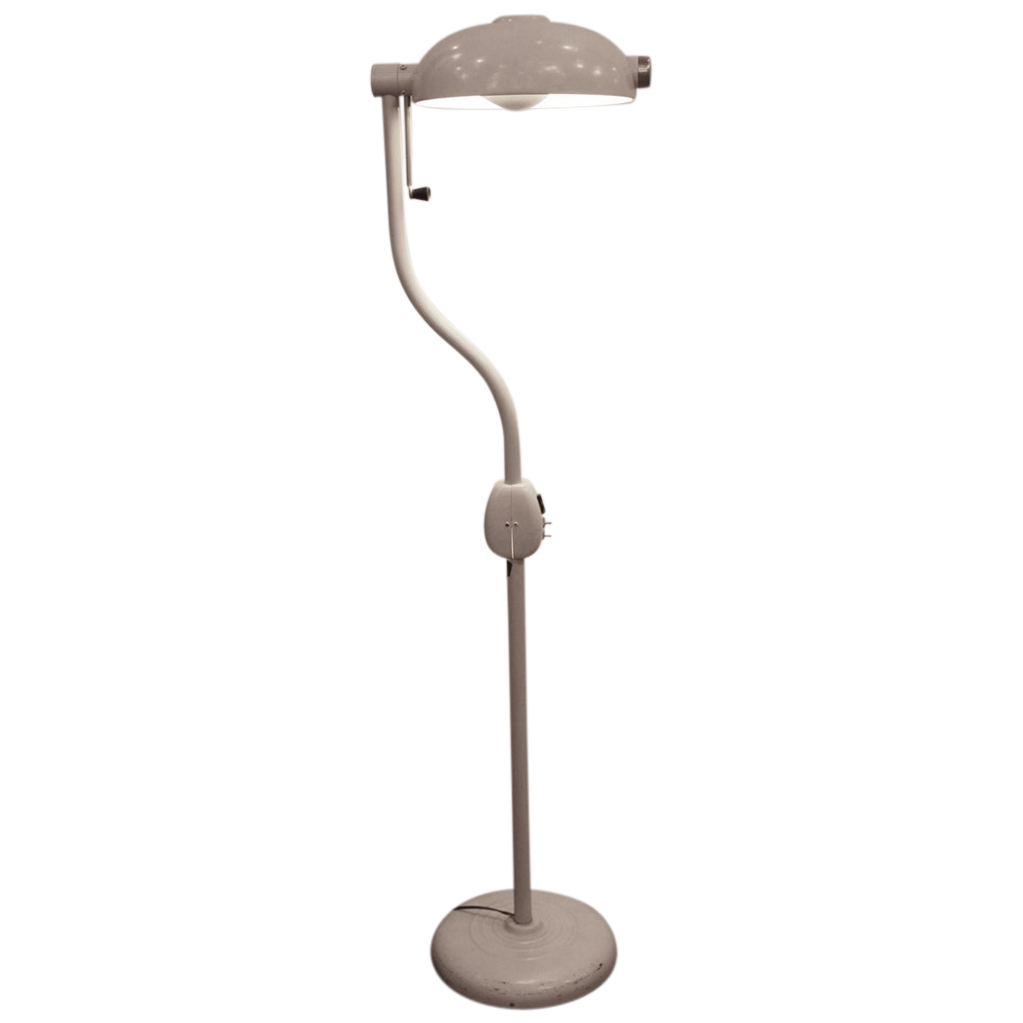 Vintage 1940's floor lamp by Hill-Rom