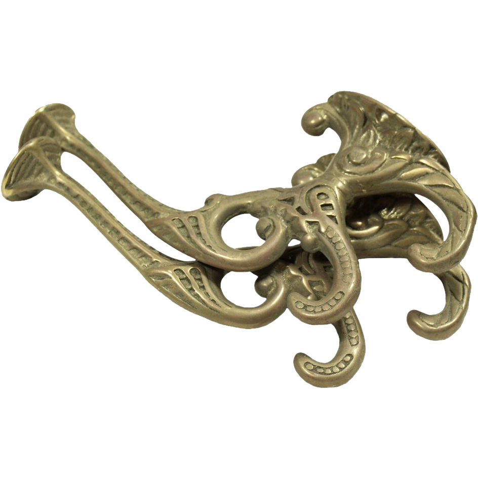 Pair of decorative hooks