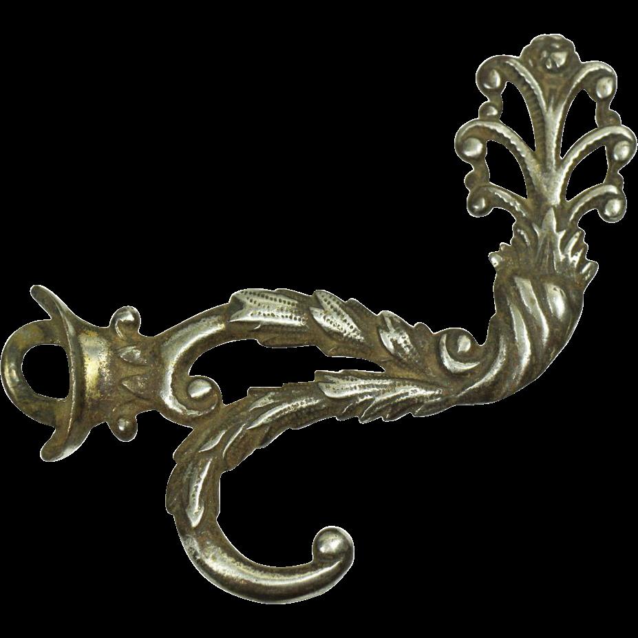 Set of nickel over bronze hooks