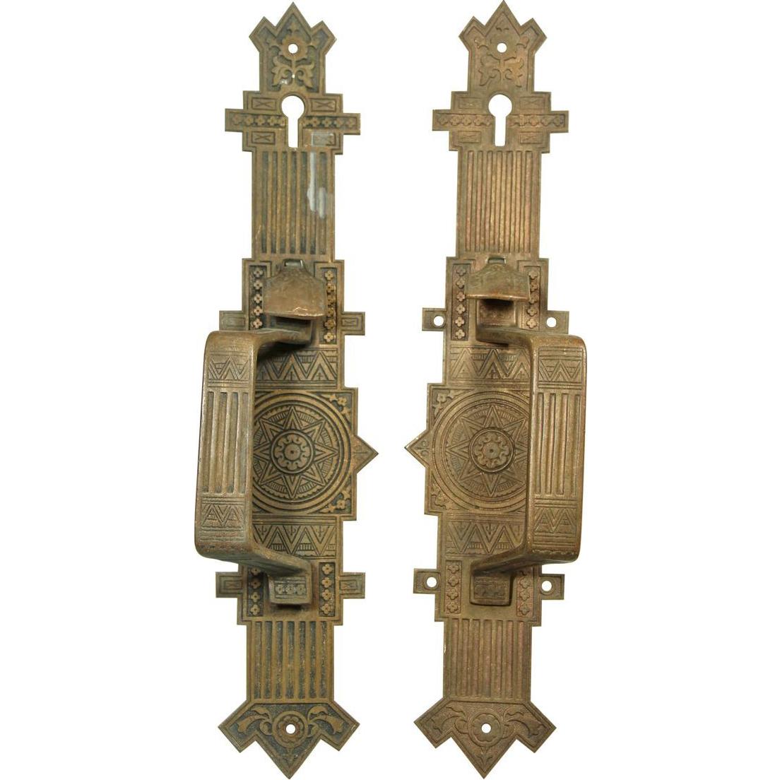 Pair of Aesthetic door pulls