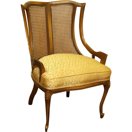 1940's Wicker back chairs