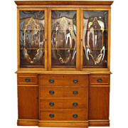 Turn of the century cherry hutch