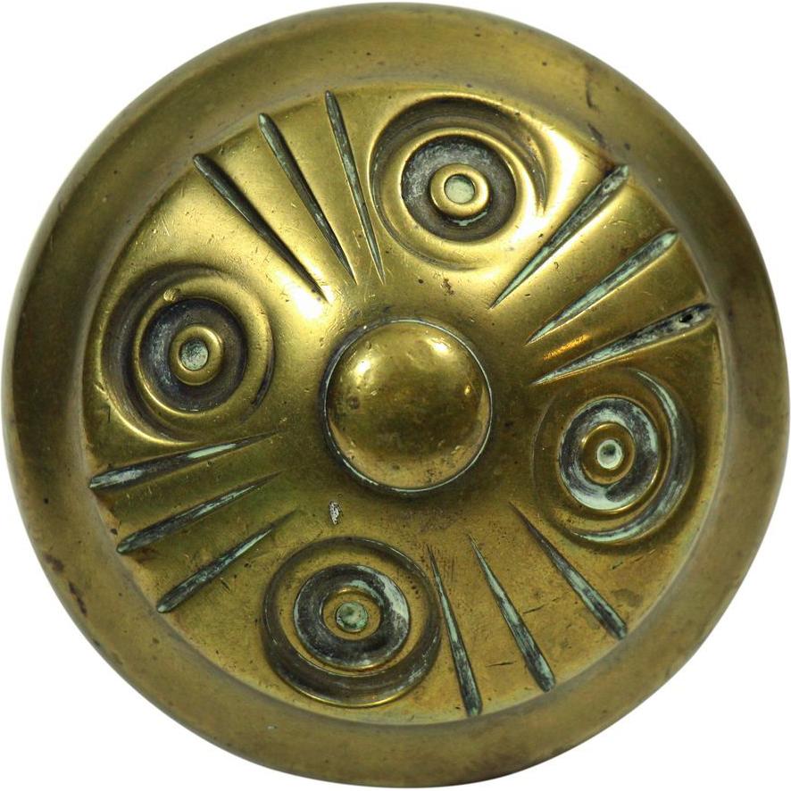 Single unique swirl knob