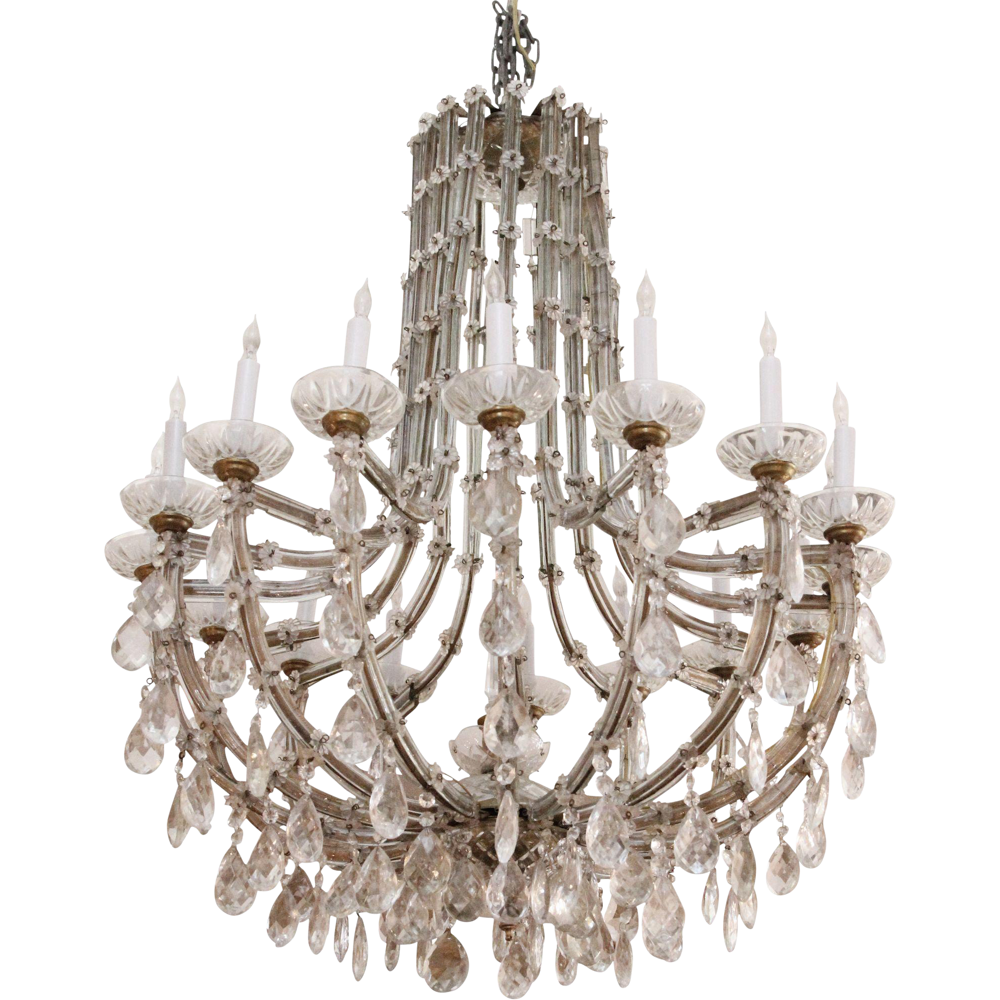 Marie Therese 16 light chandelier