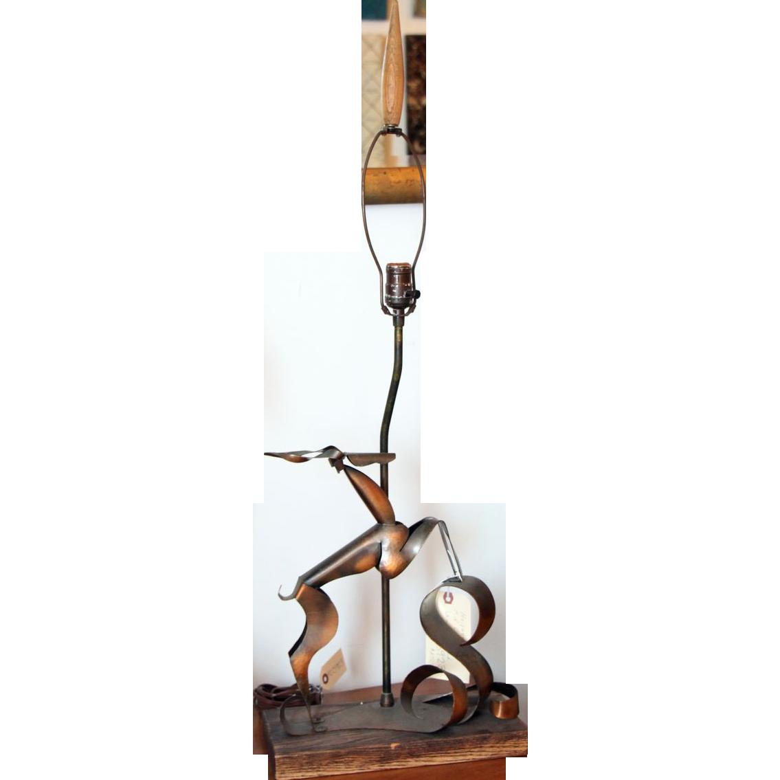 Heifetz mid century lamp