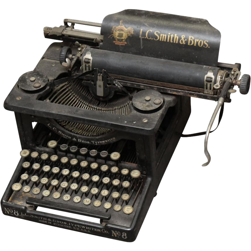 L.C. Smith and Bros. typewriter