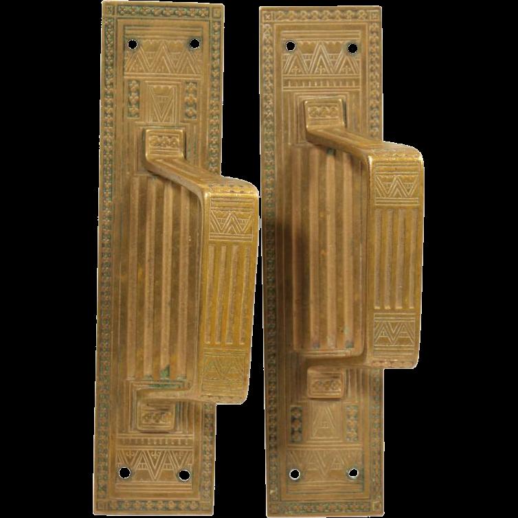 Pair of small Aesthetic door pulls