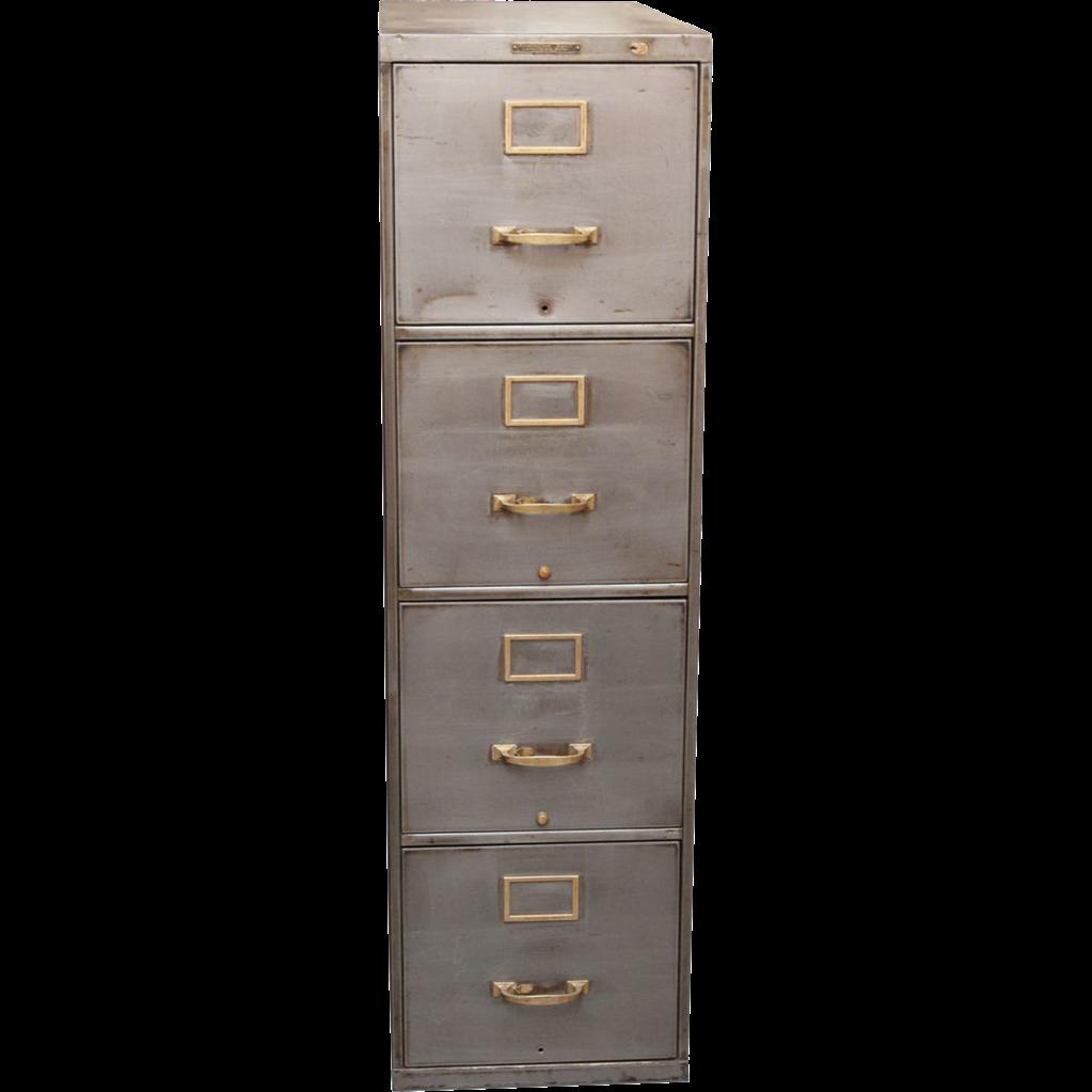 Vintage Metal File Cabinet 81
