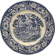 Set of Liberty Blue English dishes