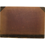 Worn antique Scientific American book