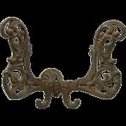 Ornate Victorian iron hook
