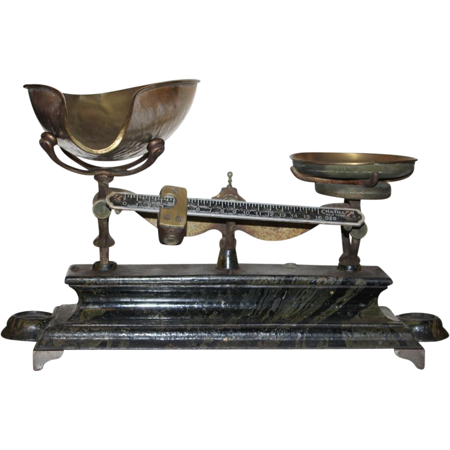 Antique Chatillon scale