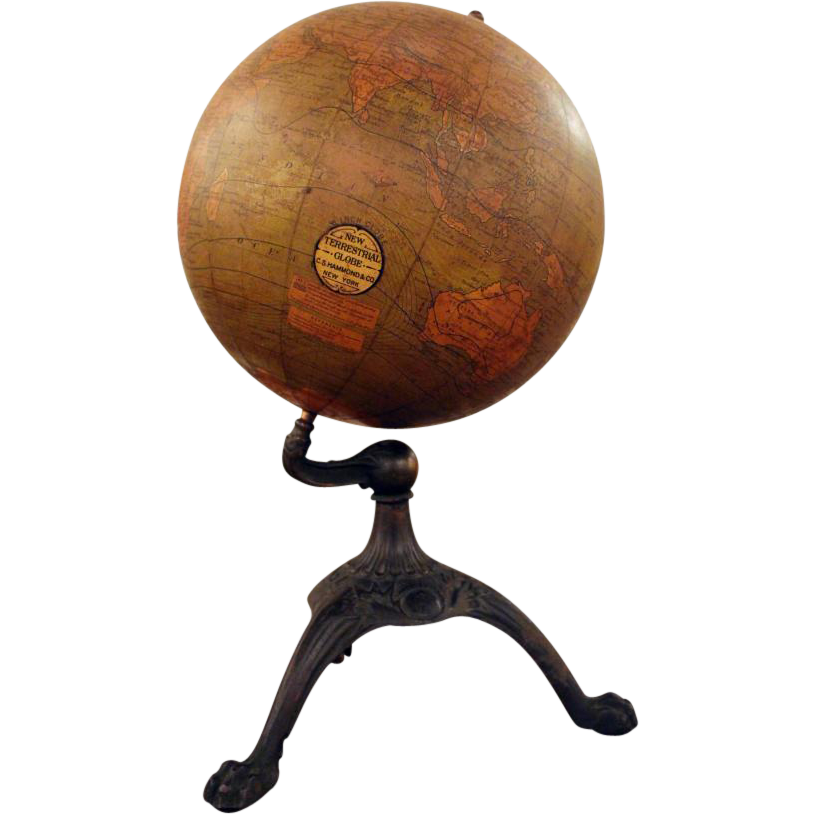 New Terrestrial table top globe