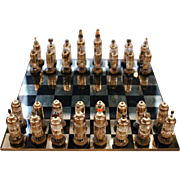 1950s Steam punk chess set