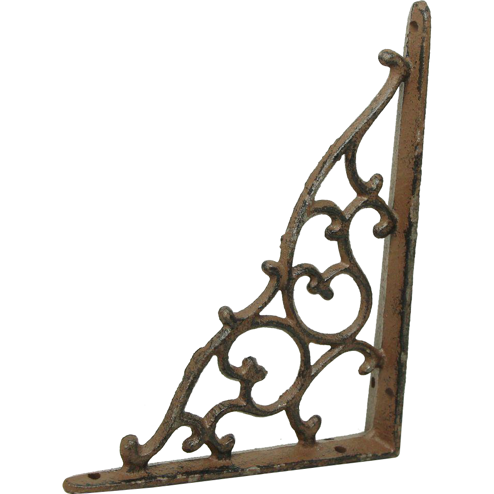 Iron Victorian shelf bracket
