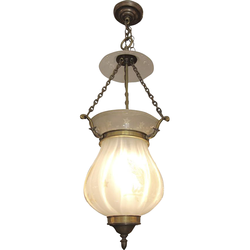 American bell jar light