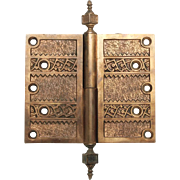 Highly ornate decorative hinge