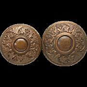Corbin entry bronze doorknob set