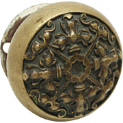 Ornate collectors quality knob with rosettes