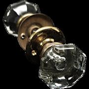 Mercury bullet glass knob set