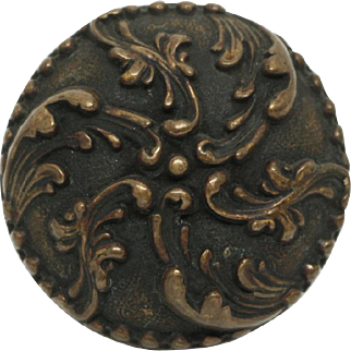 Collectors quality swirl bronze knob