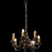 Colonial Williamsburg bronze chandelier