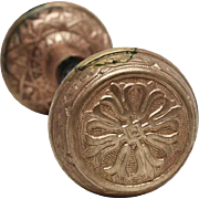 8 Fold Tulip Brass Knob Set