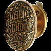 NYC Public School Knob & Closet Latch Set