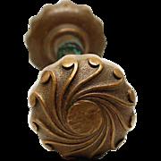 Bronze Swirled Knob Set