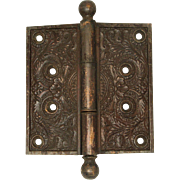 Bronze Ornate Floral Hinge