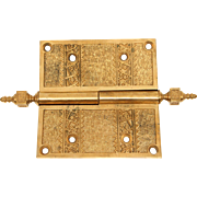 Decorative Gilded Hinge