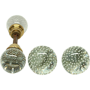 Pierpont Glass Doorknob Set