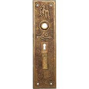 Antique Aesthetic Bronze Back Plate