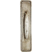 Vintage Art Deco Commercial Aluminum Door Pull