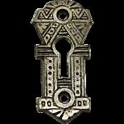 Aesthetic Key Escutcheon Plate