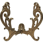 Antique Large Cast Iron Hall Tree Hook