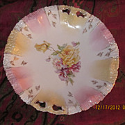 Unmarked R S Prussia Cake Plate 11""