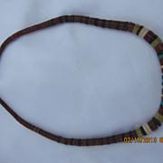 "Vintage Heishi Beads Necklace 20"""