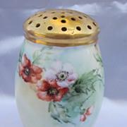Vintage Porcelain Sugar Shaker Ca. 1904
