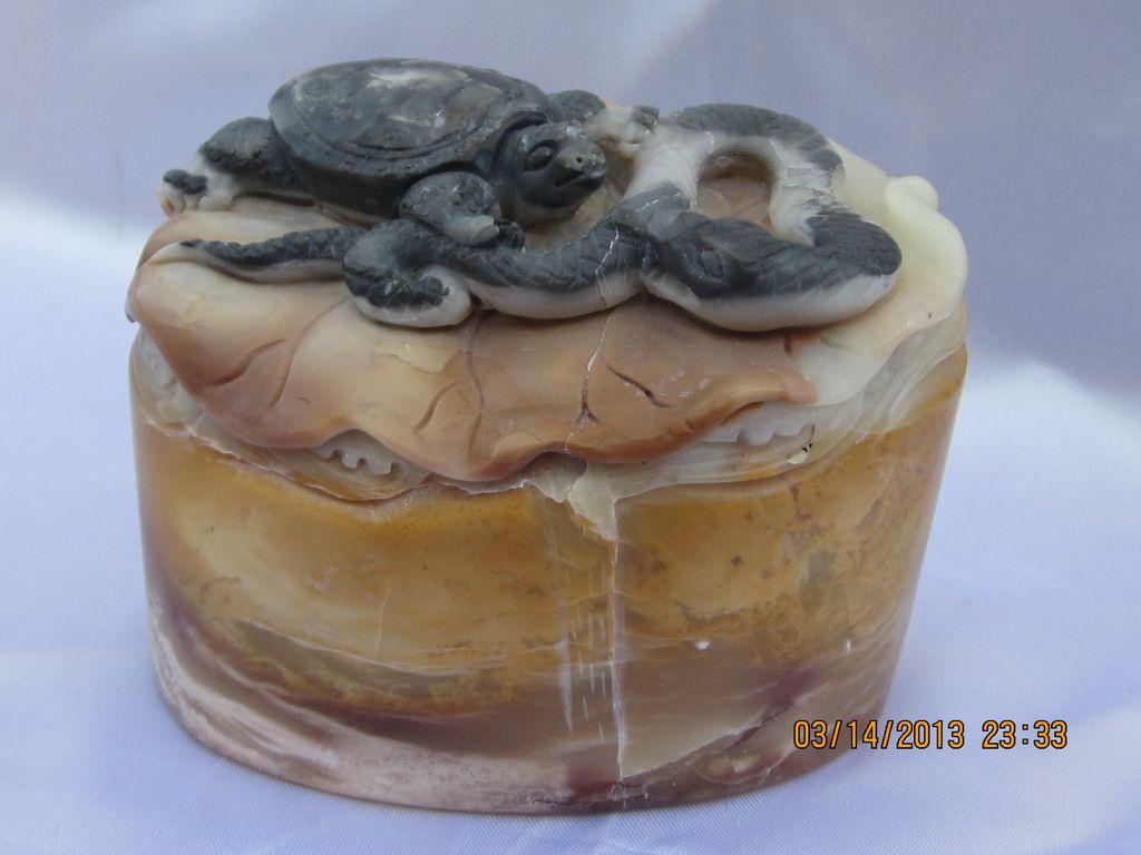 Vintage Chinese Hardstone Carving
